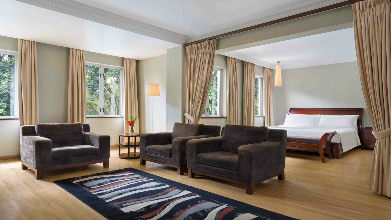 Four Points Arusha Suite interior view